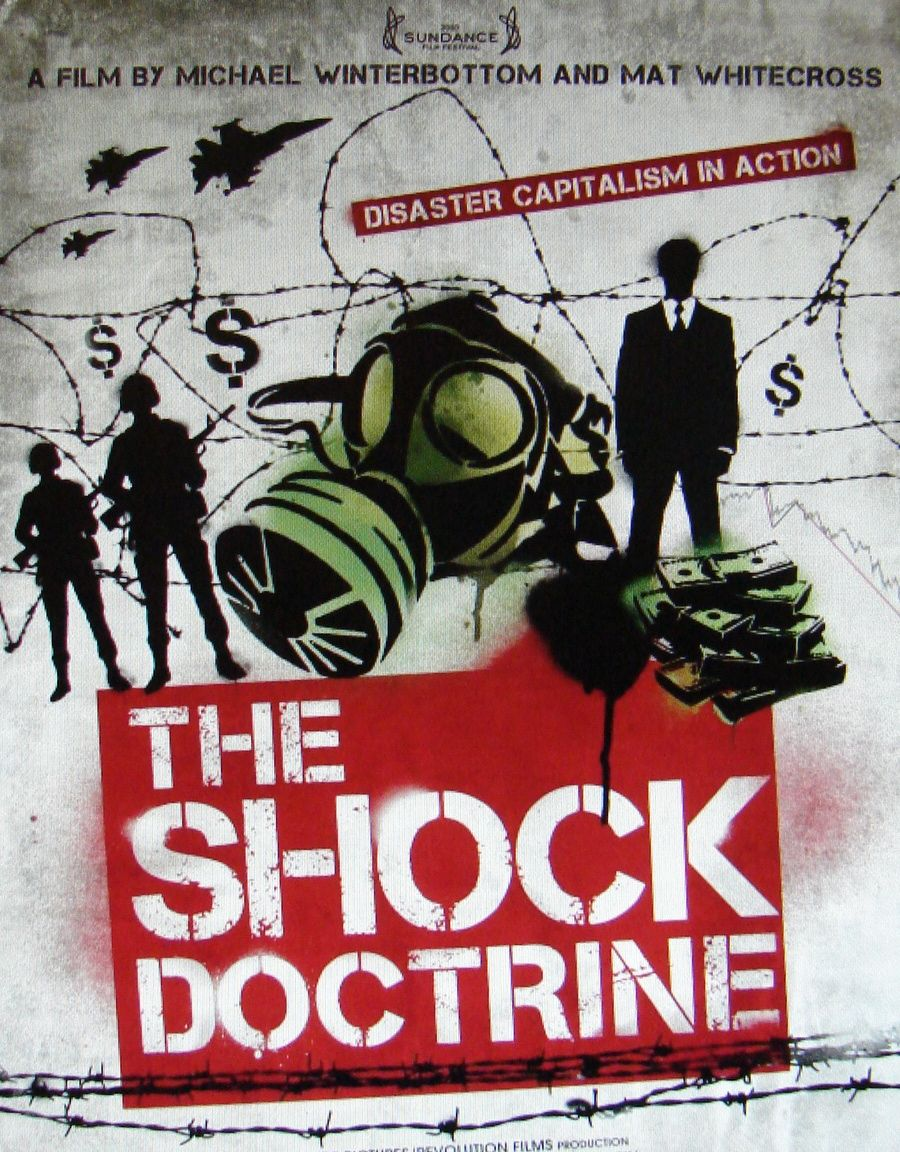 Shock Treatments: Embedded in the 'free market' economic framework is the exploitation of speed, suddeness and scope to overwhelm populations and coerce governments to submit to the rule of a global banking cartel.