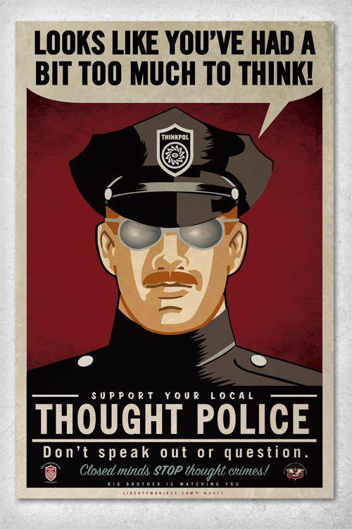 Thought Crimes: Major media outlets practice unofficial censorship to protect powerful state and corporate actors.