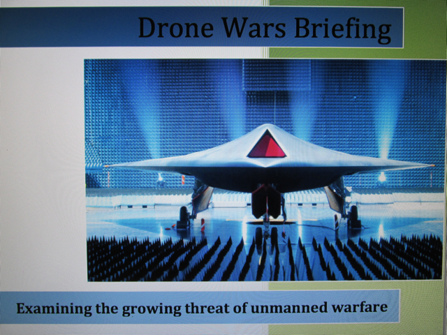 Automating Shock:  While drone pilots dehumanize their 'targets' further with words like 'bug splats', war-making world puppet leaders occasionally string people along with peace-talks rhetoric, like Casanovas playing the field.