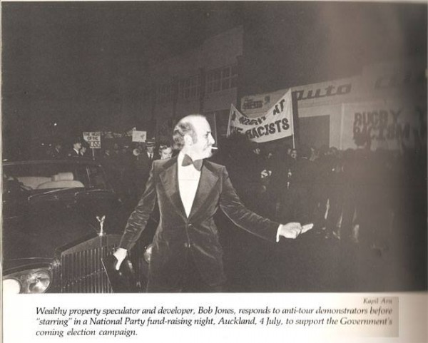Hating Equality:  Jones the oligarch during anti-apartheid demonstration in 1981 shows his admiration for dissent depth and depth of compassion for 'blacks' and 'coloureds' abused by the Afrikaner Broederbond.