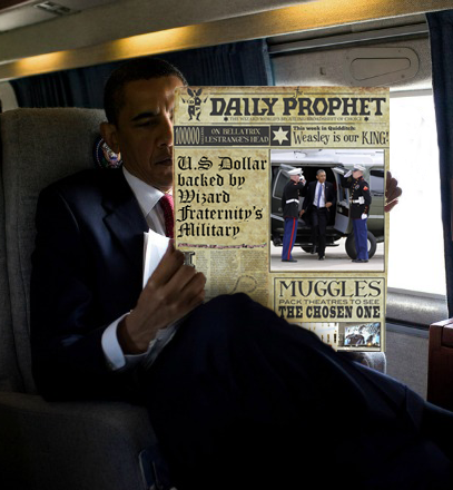 Fraternal Friends: The wold's major muggle-stream media outlets maintain a black-out on the Wizard-Goblin Bankers War.