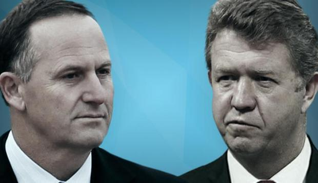 """""""Silly"""" Cunliffe: John Key said he'd love see to his Labour Party counterpart say """"sorry for being a man"""" at rugby clubs."""