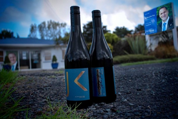 Feigning Sincerity: Waitress says New Zealand's prime minister gave these bottles  to her, as a bribe.