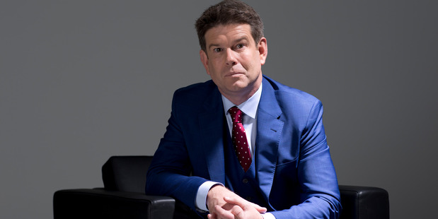 But, my show could sell Soap: John Campbell's weekly current affairs show has many similarities to a soap opera.