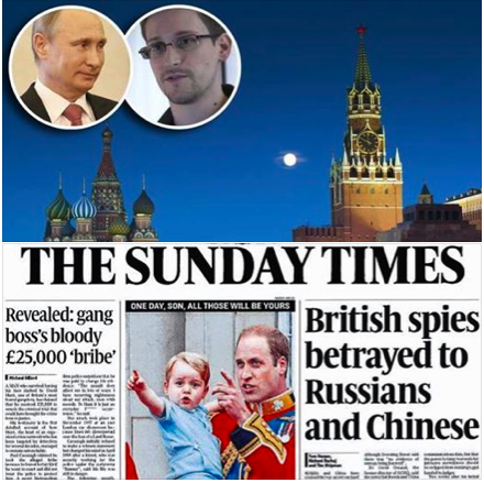Sunday Stenographers: The Murdoch Dynasty's Sunday Times newspaper attempted to assassinate Snowden character, which drew limited salvos from rival media outlets.