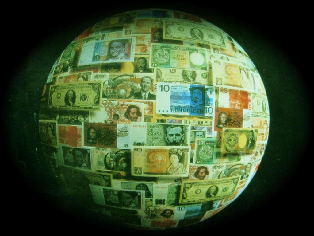 As Seen on Death Star CCTV: Currencies of manufactured paper, monetized electrons and conjured credit act as mechanisms of coercion.
