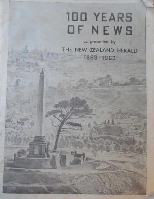 Occult Symbol of the Brotherhood: The Masonic obelisk in Cornwall Park Auckland rises above Sir John Logan Campbell's tomb and a bronze statue of a Maori chief.