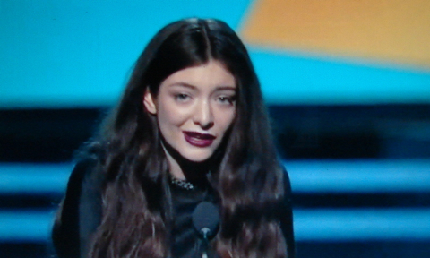 Who rules the world now? Lorde attempts to reach the world mass audience.