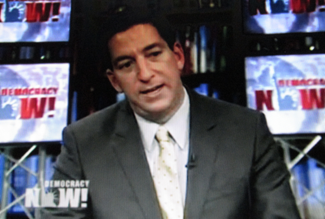 Spies Lies Exposed: Greenwald on Democracy Now! argues the major news outlets are incapable of seriously challenging the state.