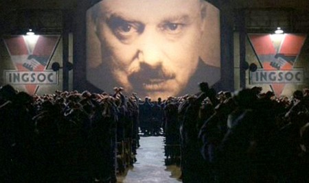 Big Brother: In the dystopian world of Nineteen Eighty-four, novelist George Orwell warned humanity of the dangers of propaganda, surveillance and terrorism.