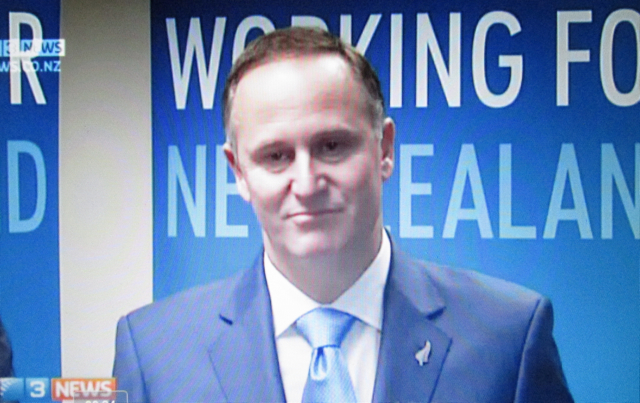 Leading a Double Life: The New Zealand prime minister's had faced 10 days of frequently asked questions (FAQs) about Dirty Politics, when his confidence began to crack at a press conference following his National Party's election campaign launch.