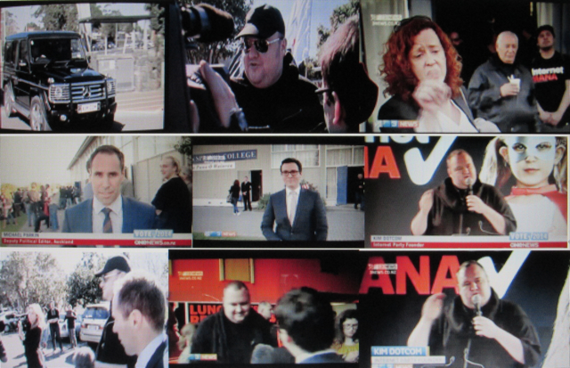 Anatomy of Frame-up Job: An election campaign launch that goes awry in the two edited versions that most people saw.