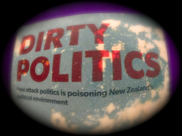 A Tale of Two Prime Ministers: Journalist Nicky Hager's book revealed John Key's 'Mr Nice Guy' persona was used to keep National's popularity high, while key people engaged in dirty politics attacks to send the politcal left into disarray and turn left-leaning voters away from the polls.