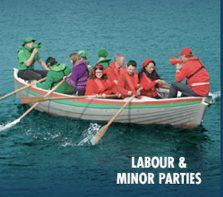 Unco Lefties: The Nat's cast the Neo-liberal Left Team as a hopeless boat going nowhere.