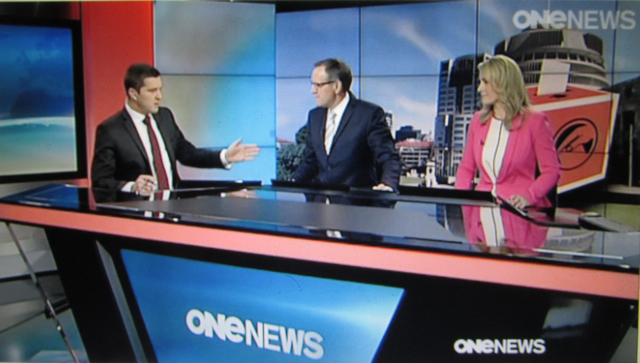 Framing the Good News Cop Story: National needed to get the show back on the road, with the help of the Go to Pro-Wealthy Propagandists, OneNews and 3News.
