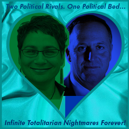 Nesting in Aqua Sheets: NZ PM's & Greens Co-leader's secret 'love' trysts