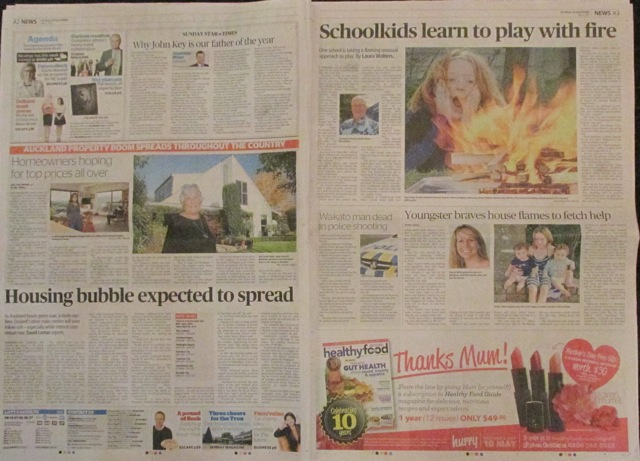 All the News that Fit to Print: The Sunday Star-Times re-sets the news agenda following the Ponytail scandal.