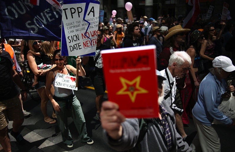 Tear it Up: The New Zealand is the first to release the TPPA text, in keeping with the the country's long-standing role as a geographically-isolated lab to test public reaction.