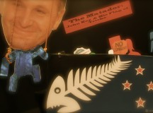 The Matador: John Key & His Flag of Tricks