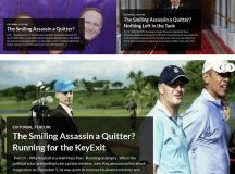 The Smiling Assassin a Quitter? A Three-Part Series
