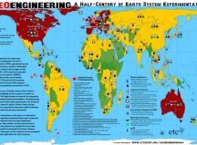 An Experiment with No Control: Earth System Geo-engineering map by ETC Group.