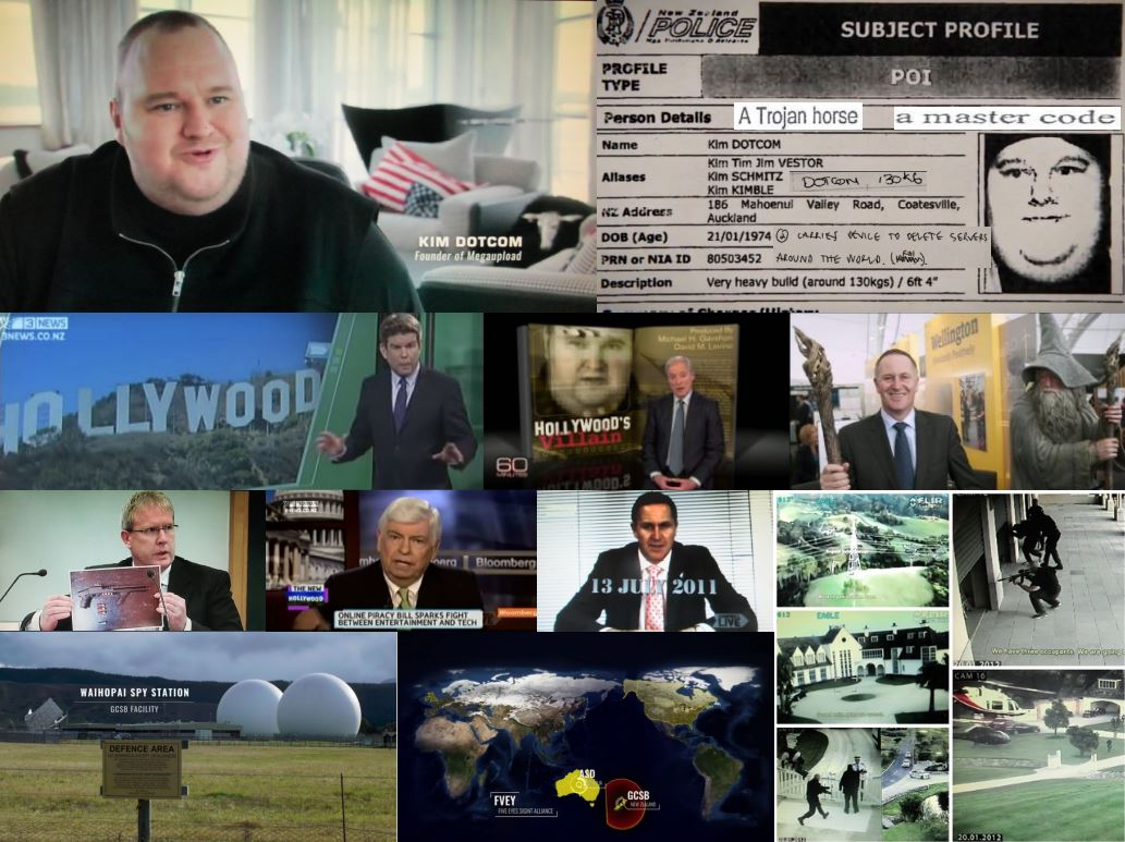 Psy-warfare from Zaoui to Iti to Dotcom: Part 3 – Hollywood's make-believe villain, Kim Dotcom (alias Kim Kimble)