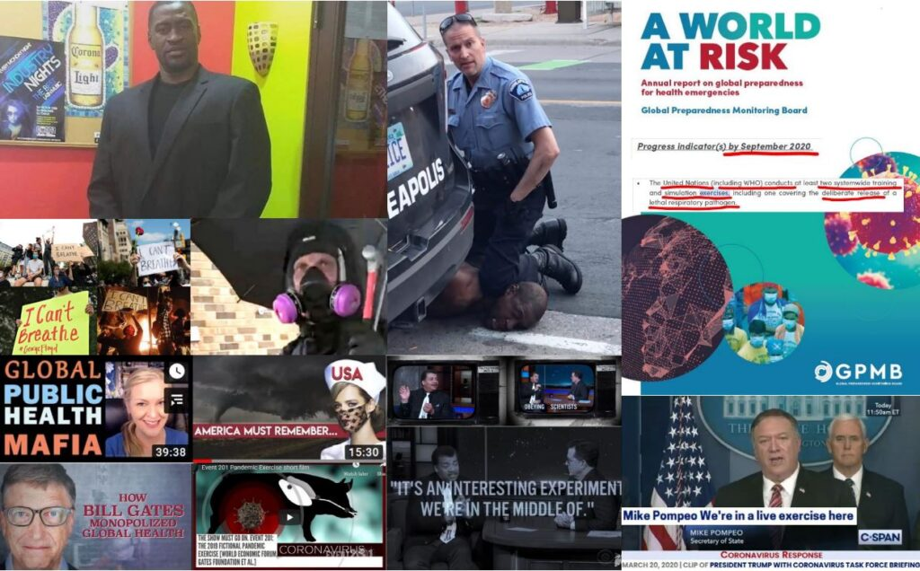 Divide & Conquer End-Game: The Race-Edition — Switching on cue from Covid-1984 to the next psy-op – Police State America?