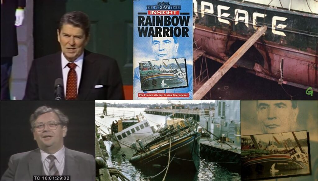 This image has an empty alt attribute; its file name is RainbowWarriorGreenpeaceReaganLangeMitterand-1-1024x583.jpg