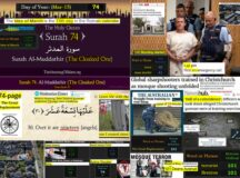 A Ritual Settling of Debts? The uncanny 'coincidences' entwined with the Christchurch 15/3 Mosques Massacre indicate a ritual slaying that riffed off chapter 74 of Islam's holy book, The Koran, in a possible transnational deep state false flag black operation 'taken live' with color coding that mimicked US military exercise and simulation manuals and codified with a 'Murder by Numbers' modus operandi drawn from Gematria, or numerology.
